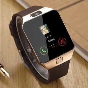 NIB DZ09 Bluetooth Smart Watch With Camera